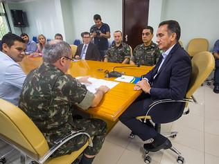 Governo e Exército firmam parceria na regularização fundiária