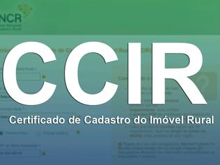 CCIR: O Sistema Nacional de Cadastro Rural (SNCR) permite o envio de documentos pela internet