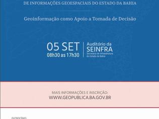 Geopublica 2017 - Geoinformação como Apoio a Tomada de Decisão