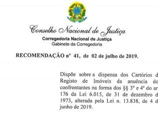 CNJ regula dispensa de anuência para desmembramento de imóveis rurais