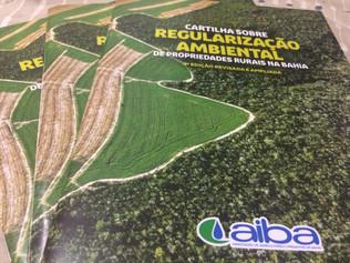 Cartilha sobre regularização ambiental é lançada na Fenagro 2016