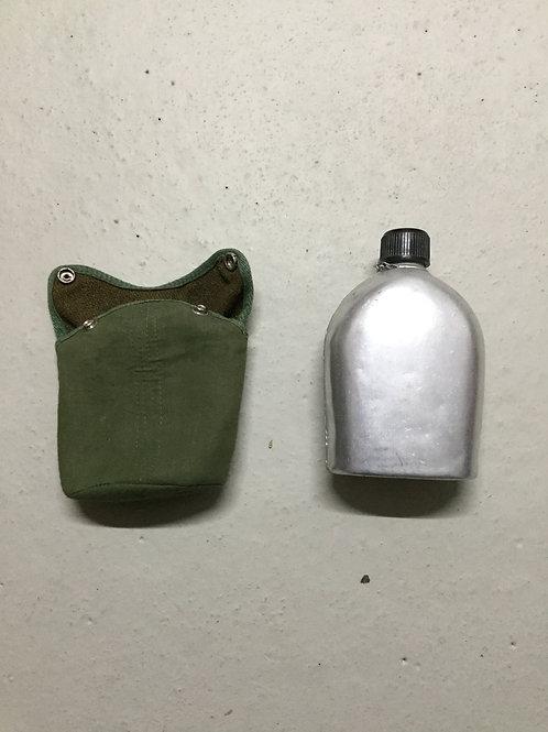 Leger Veldfles Aluminium Veldfles Met Hoes