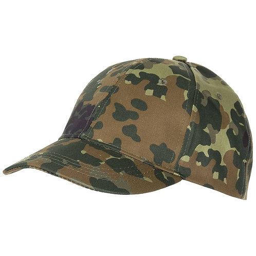 MFH - US Baseball Cap - Flecktarn Camouflage
