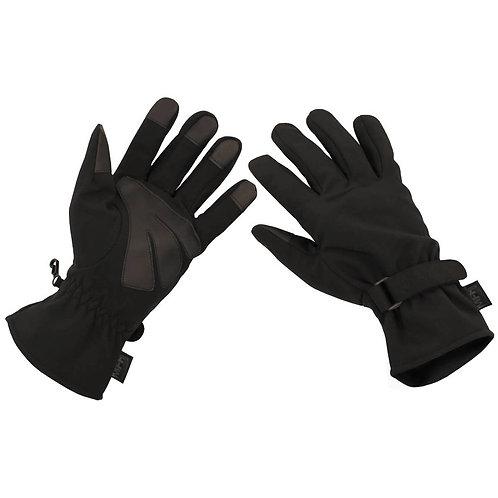 MFH - Soft Shell Handschoenen - Zwart