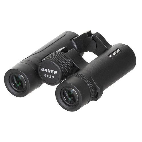 BAUER - Verrekijker Outdoor SL -8 x 26 -Waterdicht - Zwart