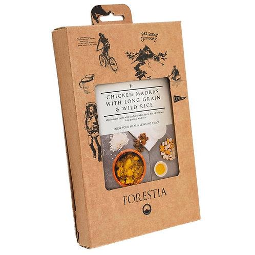 Forestia - Kip Madras met Rijst - Met Vlamloze Heater