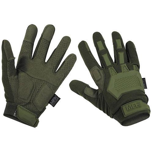 """MFH - """"Action"""" Tactical Handschoenen - Groen"""