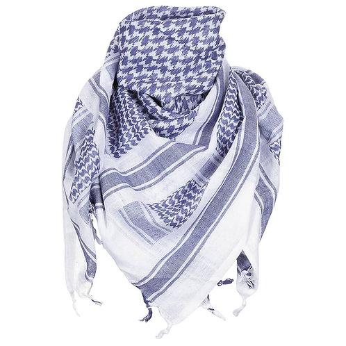 MFH Shemagh - PLO Sjaal - Arafat - Blauw/Wit