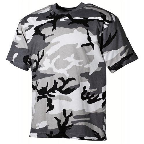 MFH - T-shirt - Korte Mouwen - Urban Camo