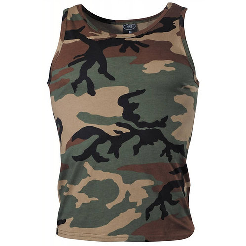MFH - Hemd - Woodland Camouflage