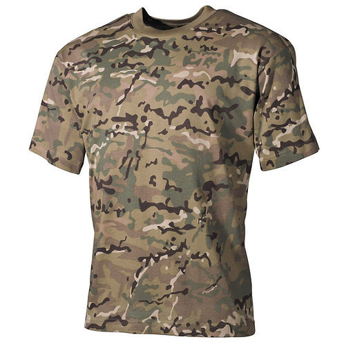 MFH - T-shirt - Korte Mouwen - Operation Camo