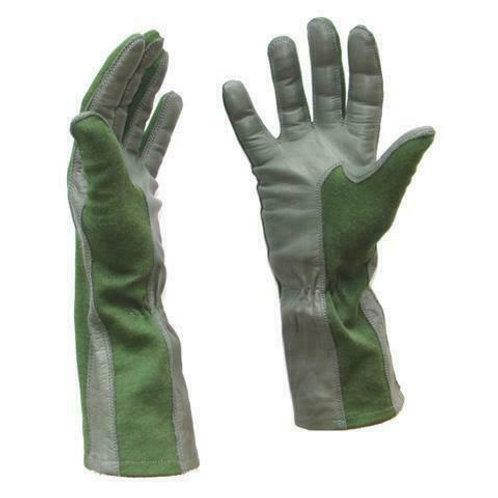 Koninklijke Landmacht - Piloten Handschoenen- Leder /Nomex