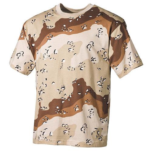 MFH - T-shirt - Korte Mouwen - Desert  Camo
