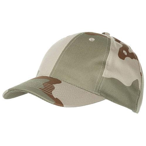 MFH - US Baseball Cap - Desert Camouflage