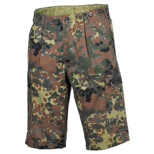 MFH - BW Bermuda Broek - Flecktarn Camouflage