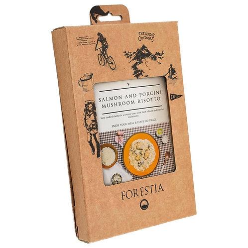 Forestia - Zalm met Porcini-Risotto