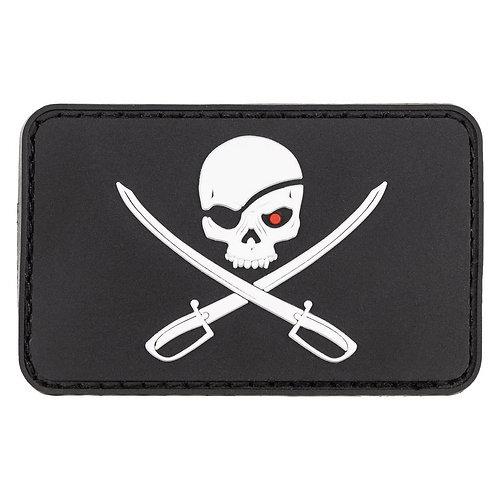 """MFH - Patch """"Pirates"""" - 8x5cm"""