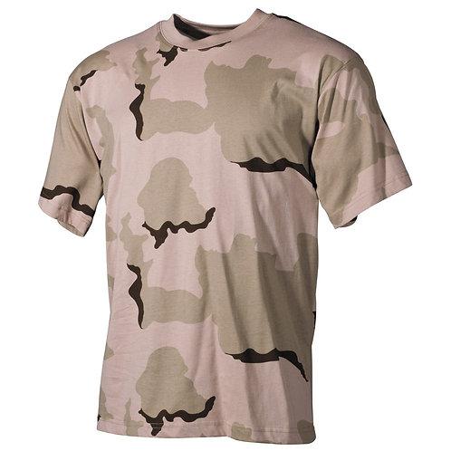 MFH - T-shirt - Korte Mouwen - Desert Camouflage