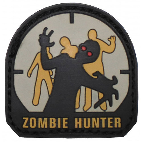 "MFH - Patch ""Zombie Hunter""  - 5cmx5cm"