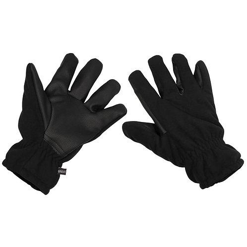 MFH - Alpen Handschoenen - Fleece - Zwart