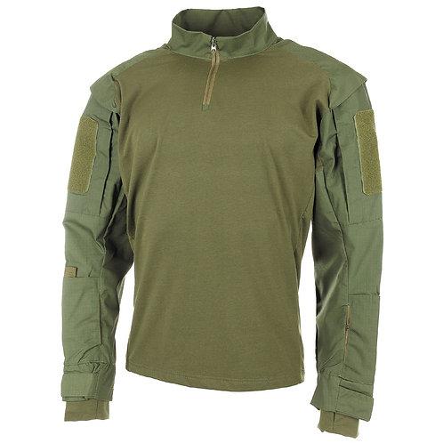 MFH - U.S. Tactical Shirt Deluxe - Lange Mauwen - Groen