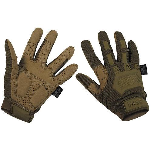 """MFH - """"Action"""" Tactical Handschoenen -Coyote"""