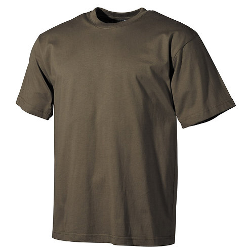 MFH - T-shirt - Korte Mouwen - Leger Groen