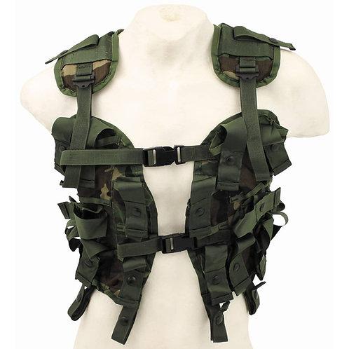 US - Grenade Carrier Vest - Woodland Camo