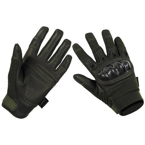 """MFH - Tactical """"Mission"""" Handschoenen - Groen"""