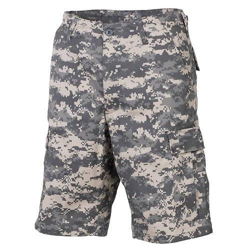 MFH - Militaire Bermuda Broek - AT Digital Camouflage