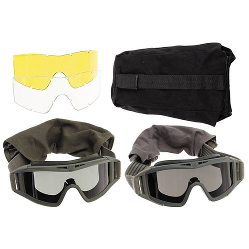 Veiligheidsbril - Revision Met Reserve Glazen en Hoes