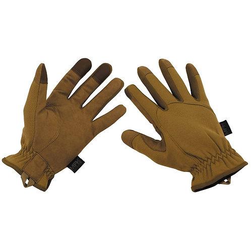MFH - Soft Shell Handschoenen - Khaki