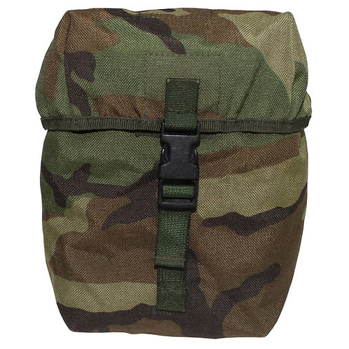 """Nederlands Leger - Utility Pouch """"Groot"""" - MOLLE - Woodland Camouflage"""