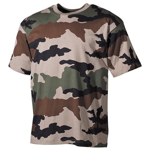 MFH - T-shirt - Korte Mouwen - CCE Camo