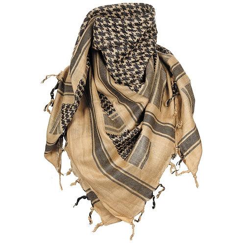 MFH Shemagh - PLO Sjaal - Arafat - Zand/Zwart