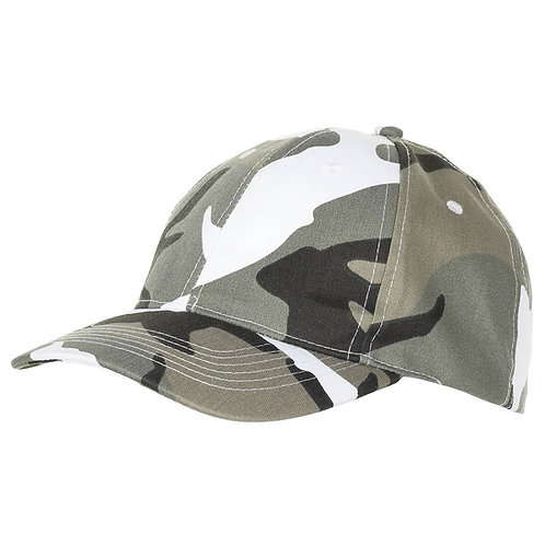 MFH - US Baseball Cap - Urban Camouflage