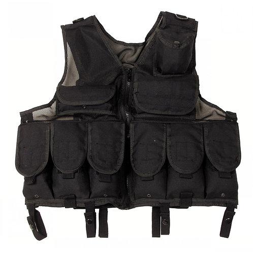 MFH Tactical Vest Zwart