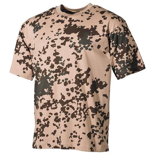 MFH - T-shirt - Korte Mouwen - Flecktarn Tropical Camo