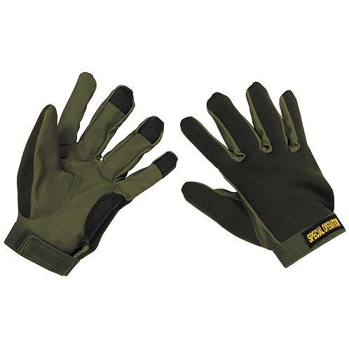 MFH - Werkhandschoenen - Groen