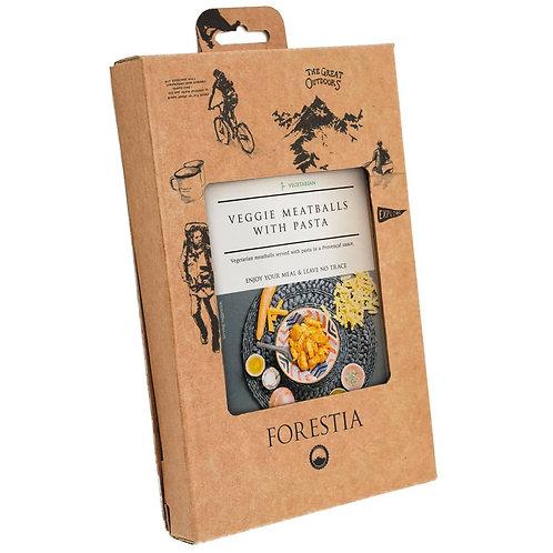 Forestia - Veggie Balls met Pasta - Met Vlamloze Heater