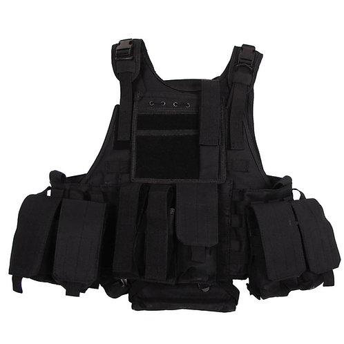 "MFH - Tactical Vest ""Ranger"" - Zwart"