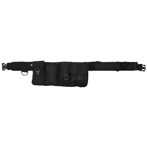 MFH - Waist Belt - 6 vakken - Zwart