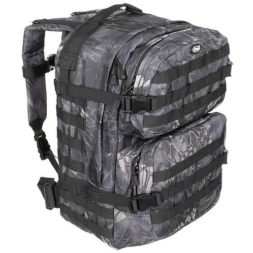 MFH - Assualt II - 40 Ltr. - Snake Black Camouflage