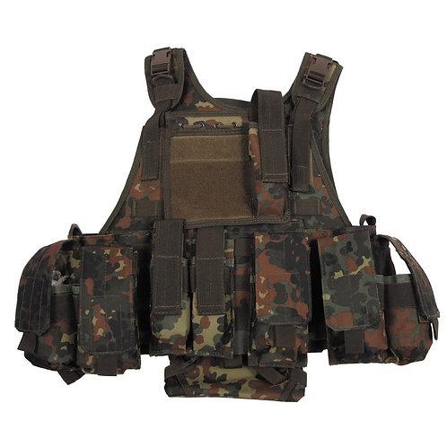 "MFH - Tactical Vest ""Ranger"" - Flecktarn Camouflage"