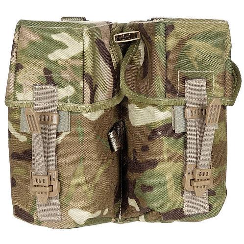 Brits Leger - MOLLE Munitie Pouch Dubbel - MTP Camouflage