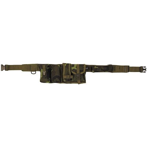 MFH - Waist Belt - 6 vakken - M95 CZ Camouflage