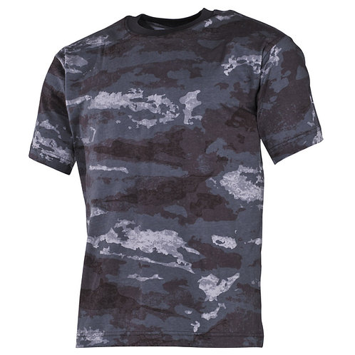 MFH - T-shirt - Korte Mouwen - HDT Night Camo