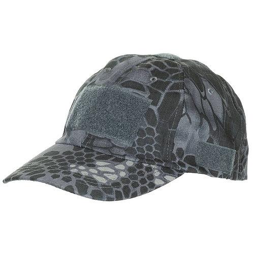 MFH - Operation Pet Met Klittenband - Snake Black Camouflage