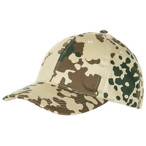 MFH - US Baseball Cap - Tropical Flecktarn Camouflage