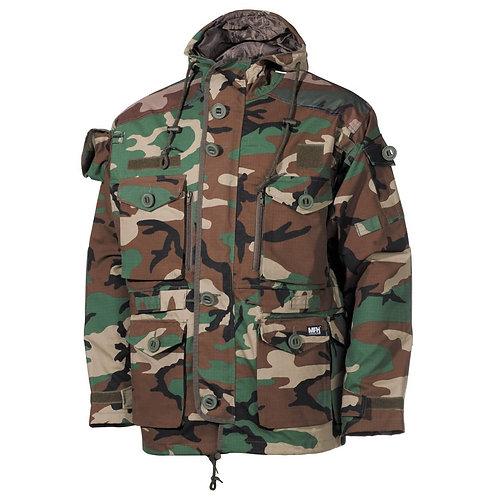MFH - U.S. Smock Veldjas - Ripstop - Woodland Camouflage